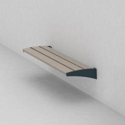 vera | Park bench wall-mounted | Benches | mmcité