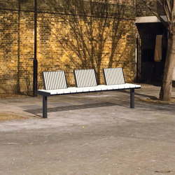 vera solo | Park bench with backrest | Benches | mmcité