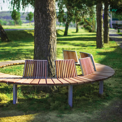 vera solo | Park bench with backrest | Benches | mmcité