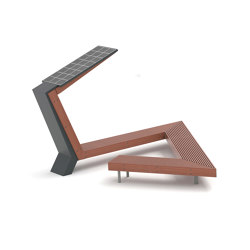 woody scorpio | Solar bench | Benches | mmcité