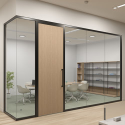 WALL PARTITION SYSTEMS MATERIAL GLASS - High quality
