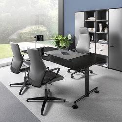 M1-Desk black edition | Schreibtische | Dauphin Home