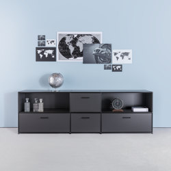 Sideboard black edition | Credenze | Dauphin Home