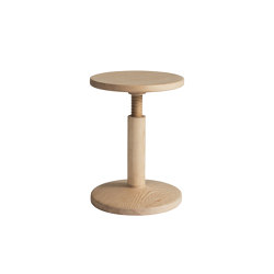 All Wood Stool Bobbin Ash | Stools | Hem Design Studio