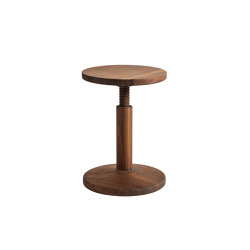 All Wood Bobbin Walnut | Stools | Hem Design Studio