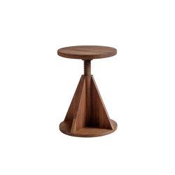 All Wood Stool Rocket Walnut | Taburetes | Hem Design Studio