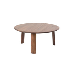 Alle Coffee Table Large Walnut | Coffee tables | Hem Design Studio