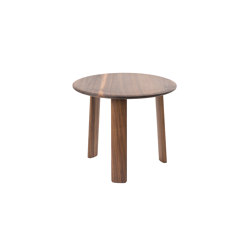 Alle Coffee Table Small Walnut | Side tables | Hem Design Studio