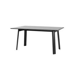"Alle Table 160 cm/63"" Black | Dining tables | Hem Design Studio"