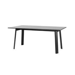 "Alle Table 180 cm/71"" Black | Dining tables | Hem Design Studio"