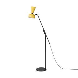 Alphabeta Floor Lamp (EU/UK Plug) Yellow | Lámparas de pie | Hem Design Studio