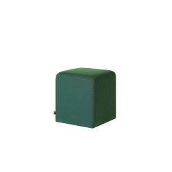 Bon Pouf Cube Peacock | Pouf | Hem Design Studio