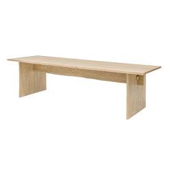 """Bookmatch Table 275cm / 108.3 """"   Tables de repas   Hem Design Studio"""