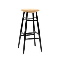 Drifted Bar Stool Light Cork/Black | Bar stools | Hem Design Studio