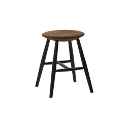 Drifted Stool Dark Cork/Black | Taburetes | Hem Design Studio