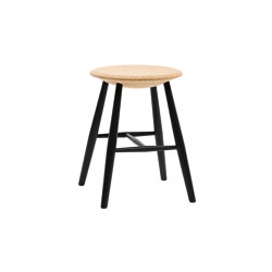 Drifted Stool Light Cork/Black | Stools | Hem Design Studio