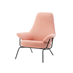 Hai Chair Melange Coral | Armchairs | Hem Design Studio