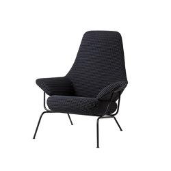Hai Chair Mosaic Charcoal | Armchairs | Hem Design Studio