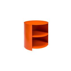 Hide Side Table Orange | Mesillas de noche | Hem Design Studio