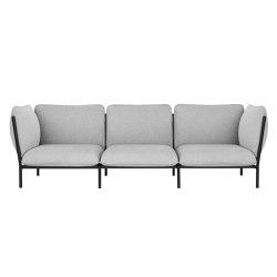 Kumo Sofa 3-Seater Porcelain | Sofas | Hem Design Studio