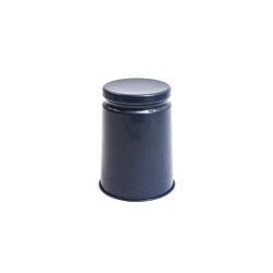 Last Stool Enameled Steel (Midnight Blue) | Stools | Hem Design Studio