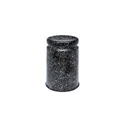 Last Stool Splatter (Black & White) | Stools | Hem Design Studio