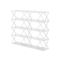 Lift Shelf 10 White | Estantería | Hem Design Studio