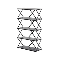 Lift Shelf 5 Black | Estantería | Hem Design Studio