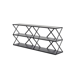 Lift Shelf 6 Black | Shelving | Hem Design Studio
