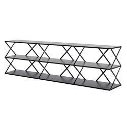 Lift 9 Shelf Black   Shelving   Hem Design Studio