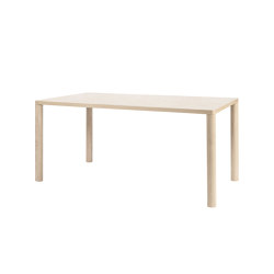 Log Table 140 cm/55.1"