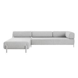 Palo 2-Seater Chaise Left Chalk | Canapés | Hem Design Studio