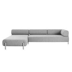 Palo 2-Seater Chaise Left Grey | Sofas | Hem Design Studio
