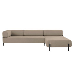 Palo Modular 2-Seater Chaise Right Beige | Canapés | Hem Design Studio