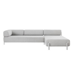 Palo 2-Seater Chaise Right Chalk | Sofas | Hem Design Studio
