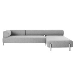 Palo 2-Seater Chaise Right Grey | Sofas | Hem Design Studio