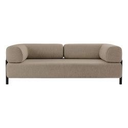 Palo 2-Seater Sofa with Armrests Beige | Divani | Hem Design Studio