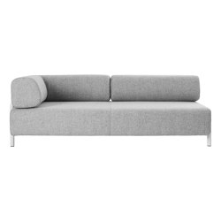 Palo Corner Sofa Left Grey | Sofas | Hem Design Studio