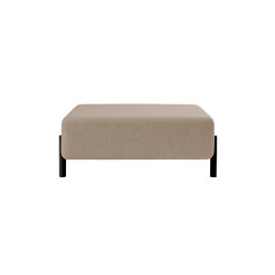 Palo Ottoman Beige | Poufs | Hem Design Studio