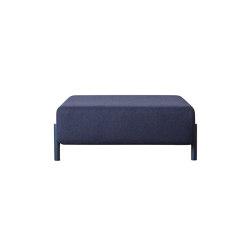 Palo Ottoman Blue | Poufs | Hem Design Studio