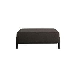 Palo Ottoman Brown-Black | Poufs | Hem Design Studio