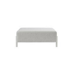 Palo Ottoman Chalk | Poufs | Hem Design Studio