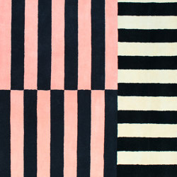 Stripe Rug Medium Roseate | Rugs | Hem Design Studio