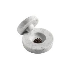 Table Mortar Bianco Carrara | Diverso | Hem Design Studio