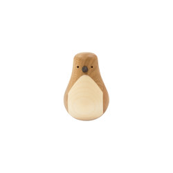 Turned Bird Penguin Oak | Objects | Hem Design Studio