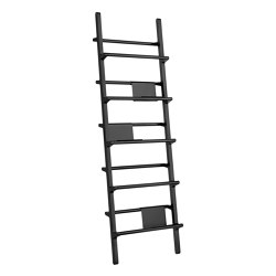 Verso Shelf Wide Black | Estantería | Hem Design Studio