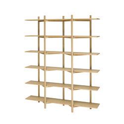 Zig Zag Shelf High | Shelving | Hem Design Studio