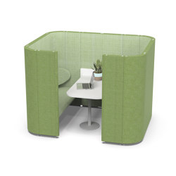Rondo Box Booth | Sofas | Lande