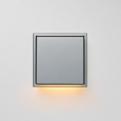 Plug & Light  | LS Zero LED Wall Luminaire aluminium | Wall lights | JUNG