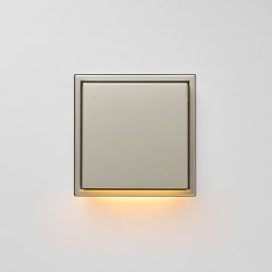 Plug & Light  | LS Zero LED Wall Luminaire stainless steel | Wall lights | JUNG